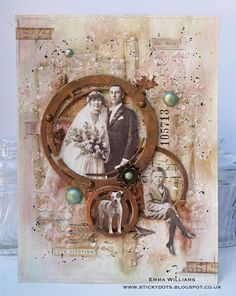 That's Life: Circle Of Life...with Tim Holtz Paper Dolls