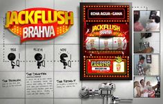 JACKFLUSH BRAHVA by Eddy Flores, via Behance