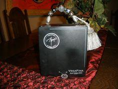 Cigar box purse - Black  Humadorablesbysusan.com