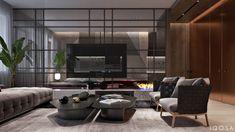 Luxury House Interior Design Tips And Inspiration Flat Interior, Luxury Homes Interior, Apartment Interior Design, Luxury Home Decor, Interior Design Studio, Interior Decorating, Futuristisches Design, Salon Design, Room Partition Designs
