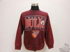Vtg 90s CSA Chicago Bulls Crewneck Sweatshirt sz XL Extra Large Pippen Jordan #CSA #ChicagoBulls #tcpkickz