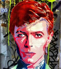 "tv_streetart_: "" Special Tribute . R.I.P. David Bowie . Presenting . Our StreetArt MEMBER FEATURE showcasing the wonderful photographic work of one of our many talented family members. . Congratulations go to: .  @rociofont . Artist: #Rice . Please take some time to check out their gallery and show some IG love!!! . Photo Selected By: @lewisquerelle . How to become a member of TV_STREETART_ . FOLLOW @tv_streetart_ TAG ##tv_streetart . Happy Snapping…"