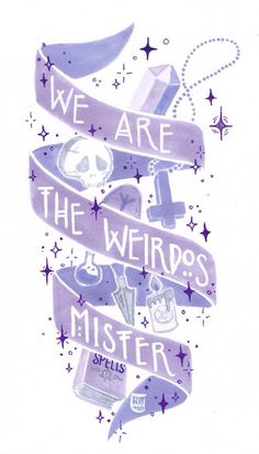 We are the weirdos of taliaAF, Pastel Goth Craft Stickers We Are The Weirdos by taliaAF, pastel goth Craft sticker - Unique Wallpaper Quotes Tatouage Goth, Gothic Kunst, Gothic Art, Trailer Park, Pastel Goth Art, Pastel Goth Quotes, Grunge Quotes, Pastel Grey, Under Your Spell