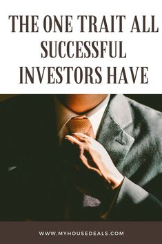Check out Eric's story to see the one characteristic ALL successful real estate investors have...