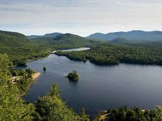 Laurentian Mountains, Canada. 1,1 Billion Years Old