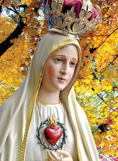 Our Lady of Fatima I Love You Mother, Mother Mary, Religiosidad Popular, Lady Of Fatima, Queen Of Heaven, Mama Mary, Holy Rosary, Mary And Jesus, Christian Devotions