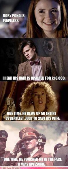 Rory Pond: Time Badass Like this.
