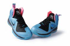Nike Lebron 9 Womens Blue Black Pink [Womens Nike LeBron-6398] - $66.99 : lebronxlows.net sale|LeBron X LOW|LeBron 9 Low|Lebron 8 Low and Hyperdunk low