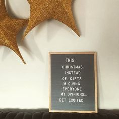 44 Ideas For Funny Christmas Quotes Hilarious Families Felt Letter Board, Felt Letters, Memo Boards, Christmas Quotes, Christmas Humor, Christmas Gifts, Merry Christmas, Quote Board, Message Board