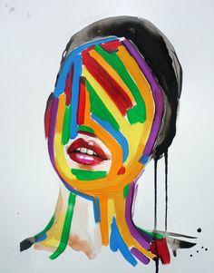 Meet the Artist: Sandra Chevrier Sandra Chevrier, Massage For Women, Watercolor Fashion, Meet The Artist, Collage Art, Concept, Illustration, Inspiration, Etsy