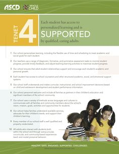 Whole Child Indicators for Supported