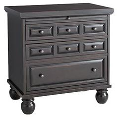Ashworth Nightstand - Black