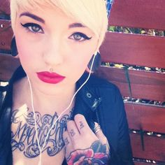 beautiful Pink Lips, Red Lips, Stay True Tattoo, Ink Model, Body Is A Temple, Woman Painting, Body Mods, Beautiful Tattoos, Pretty People