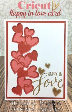 Cricut Happy in Love card