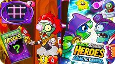 Plants vs. Zombies Heroes #89 | Nueva Actualización | JARDINES GALACTICO...