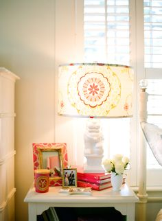 #lamp, #nightstand, #bedside-lamps  Photography: White Loft Studio - whiteloftstudio.com  Read More: http://www.stylemepretty.com/living/2013/11/25/sarah-crawfords-home-tour/