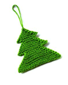 DIY: knitted Christmas tree