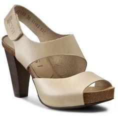 Sandały NESSI - 42103  Beż 12