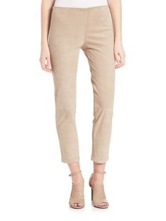 Cropped suede trousers Vince IvzuWfPB