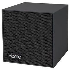 speakers in target. ihome bluetooth rechargeable mini speaker cube (ibt16bb) : target speakers in
