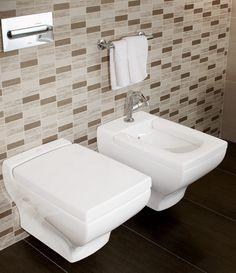Bidé e inodoro La Belle #Villeroyboch #VilleroybochEs #bathandwellness #Inodoros #urinarios #bidés #lavabo #inodoro #bide #lavabos #porcelana #baño #baños #inspiración #diseño #lujo #Premium #estilo #bath #innovacion  #Labelle