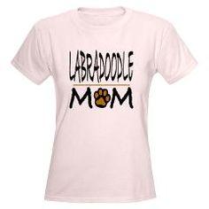 LABRADOODLE Women's Light T-Shirt > LABRADOODLE > Unique Animal Designs