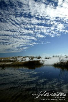 Deer Lake State Park's trail access to the Gulf of Mexico opens to a magnificent dune field and beach. Visit WaterSound and see for yourself!