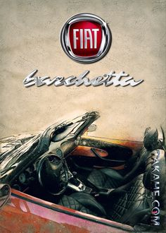Stunning artworks from Barchetta collection. Our Displate metal prints will make your walls awesome. Fiat, Prints, Cars, Printing, Metal, Printed, Vehicles, Autos, Art Print