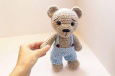 Crochet Bear PATTERN teddy  Amigurumi bear pattern-Bear