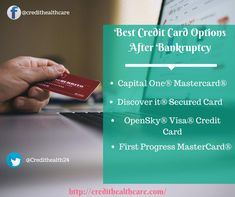Looking for Credit Card option after bankruptcy ? secured credit card can speed up repair of a damaged credit history. BestCredit Card Options After Bankruptcy. Credit Card First, Miles Credit Card, Rewards Credit Cards, Best Credit Cards, Small Business Credit Cards, Little Company, Fix Your Credit, Credit Card Offers, Car Insurance