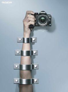 Olympus E-520: Arm #print #advertising