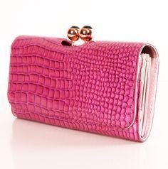 Pink Ted Baker Wallet