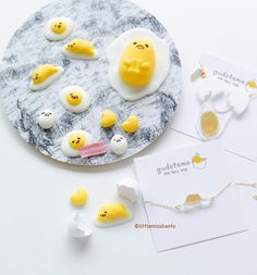 Yes! I was busy this morning making #chocolates! Valentine's Day treats  Homemade #Gudetama chocolates for my hubby and super cute Gudetama #necklace and #bracelet from @vincausa for me!  I like that the design of the accessories is not overly loud or kiddy quite classy and very kawaii. Thank you @vincausa.  Did you also know that the tradition in Japan during V day is for ladies to gift chocolates to your loved one?  #gudetama #gudetamachocolate #homemade #littlemissbento #vincausa…