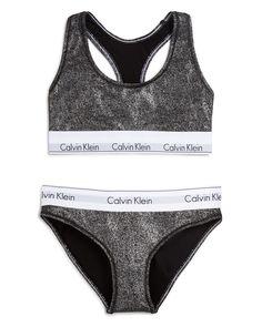 4e4252aa94 Calvin Klein Underwear Modern Cotton Bralette and Bikini Gift Set