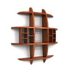 Sphere Shelf Wall Storage by victor klassen