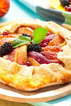 Apple-Cranberry Galette Recipe