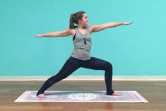 Moon Salutation Sequence for a Calming Yoga Practice