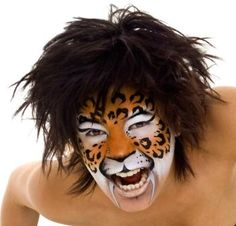 image by the paintertainer.co.uk Cheetah Face, Halloween Face Makeup, Paint, Image, Cats, Picture Wall, Gatos, Paintings, Cat