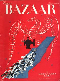 Harper's Bazaar February 1940