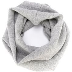 Extreme Cashmere NO8snood (8.660 RUB) ❤ liked on Polyvore featuring accessories, scarves, grey, cashmere scarves, grey scarves, cashmere snood, gray scarves and grey shawl
