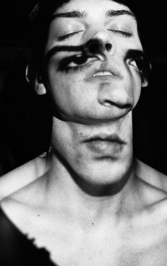 Hannah Gottschalk - projection series; faces on Behance - 2012