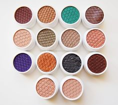 Colourpop Super Shock Eyeshadows - review and swatches