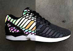 adidas zx flux xenopeltis snake 3m reflective adidas Originals To Debut A New Reflective Material On the ZX Flux