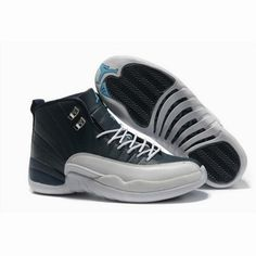 Air Jordan Retro 12 XII Playoffs Men Black/White Shoes Wholesale Price: US$