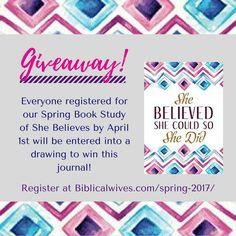 Spring Study 2017 – Biblical Wives Book Club