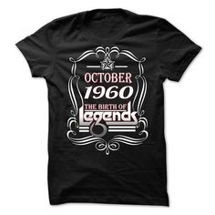 [Cool tshirt names] October 1960 The birth of The Legends  Shirt design 2016  October 1960 The birth of The Legends. Guaranteed safe & secure checkout via Paypal VISA MASTERCARD  Tshirt Guys Lady Hodie  SHARE TAG FRIEND Get Discount Today Order now before we SELL OUT  Camping 1960 the birth of 33 years of being awesome birth tshirt are born in october birth of the the birth of legends