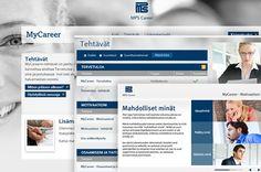 Toteutimme MPS Careerille MyCareer-palvelun. Lue lisää Tactuksen jutusta Organisaatioiden urat uuteen malliin - http://tactus.mps.fi