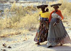 Mujeres Botswana