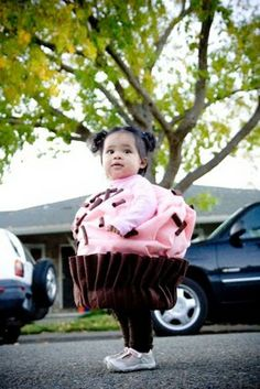Fall Fun DIY: Cupcake Costume ~ Craft and Couture