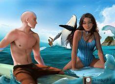 Time Painting, Painting Videos, Avatar Aang, Avatar The Last Airbender, Space Unicorn, The Last Avatar, Team Avatar, Korrasami, Fire Nation